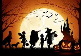 kids-silhouette-halloween